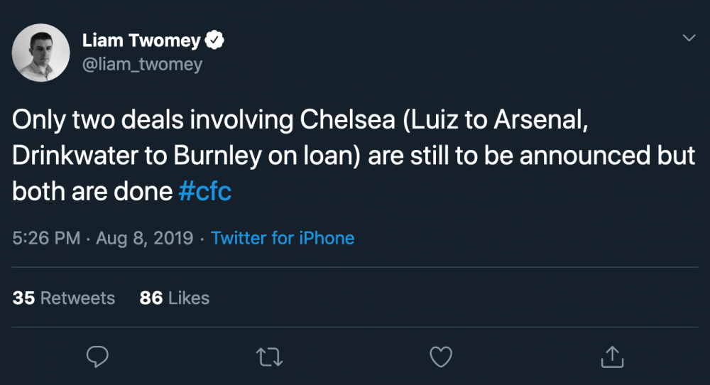 Screenshot_2019-08-08 Liam Twomey on Twitter Only two deals involving Chelsea (Luiz to Arsenal, Drinkwater to Burnley on lo[...].png